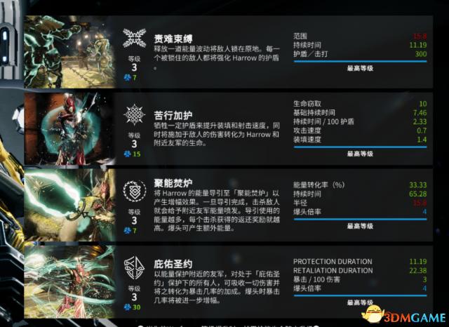 星际战甲新战甲HARROW怎么配MOD 新战甲MOD搭配攻略
