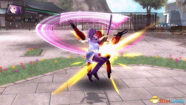 《女武神驱动 比丘尼》评测 翔舞的彩焰凌乱的衣衫