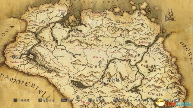 上古卷轴5:天际重制版 纸质地图MODv1.3[汉化版]