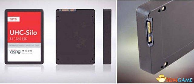 全球首款50TB固态硬盘正式推出 还是使用MLC闪存