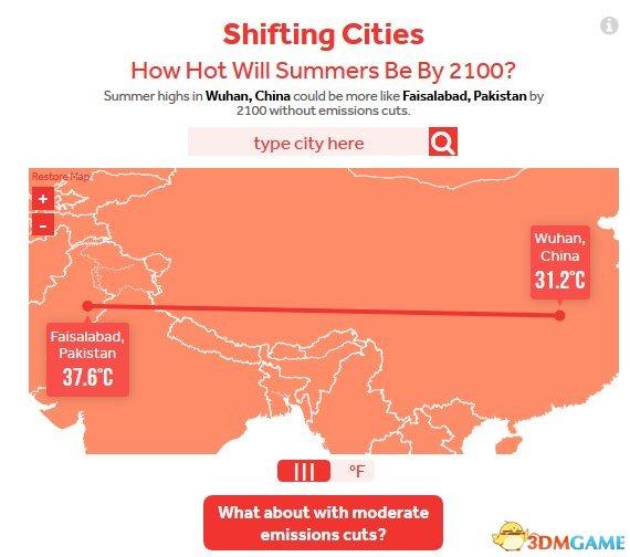 2100年的气温会有多高?北京将会和新德里一样热!
