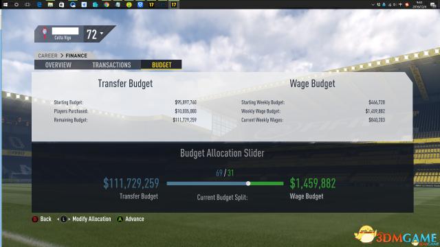 FIFA17预算不够怎么办 FIFA17 CE修改预算教程