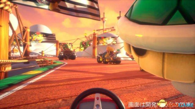 《马里奥赛车》VR游乐项目揭秘!极致的拟真体验