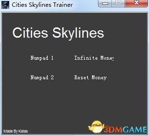 城市:天际线 v1.7.0-f5两项修改器[KALAS]