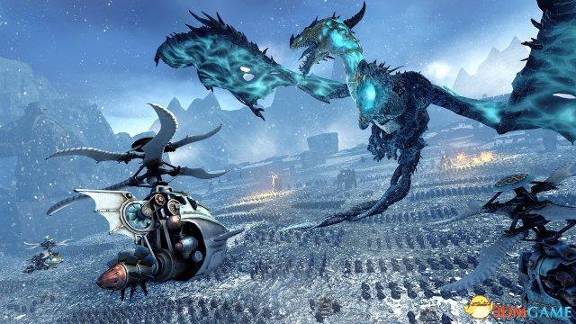 《全面战争:战锤》新DLC预告 野蛮人种族霸气十足