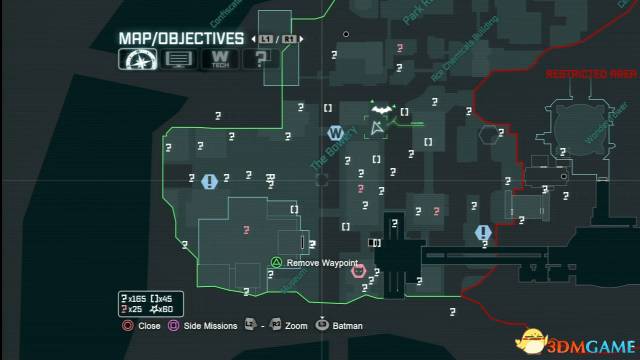 《蝙蝠侠:阿卡姆之城》全谜语人猜谜位置