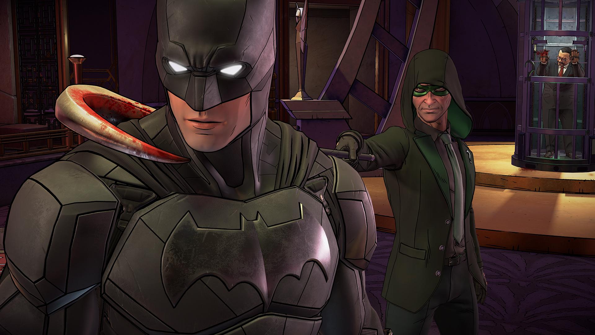 蝙蝠侠:内敌 1号升级档+EP2+未加密补丁[3DM]