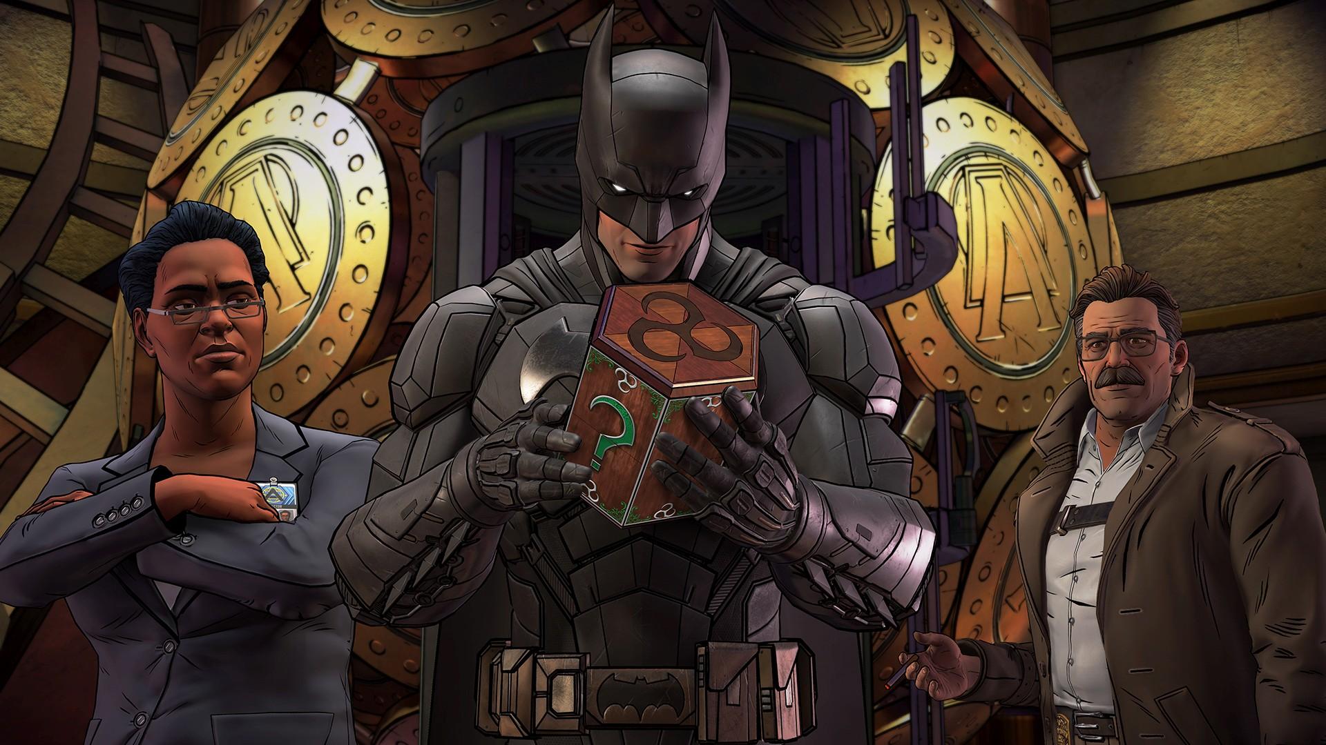 蝙蝠侠:内敌 3号升级档+未加密补丁[3DM]