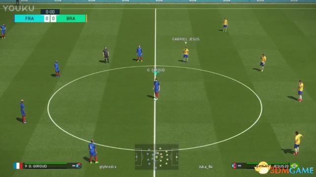 实况足球2018Beta版法国对战巴西视频攻略