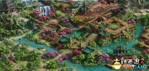 大话2免费版资料片推出新地图女儿国 新召唤兽登场