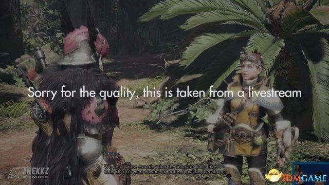 《怪物猎人:世界》游戏直播演示大量炫酷武器