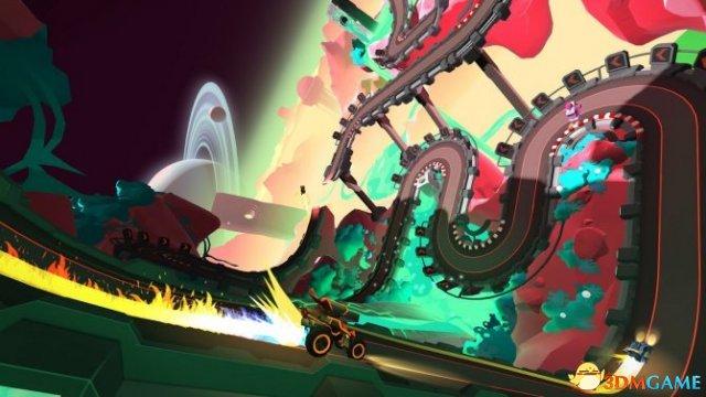 《微轨赛车》发布难度补丁 单机游戏不会再虐手