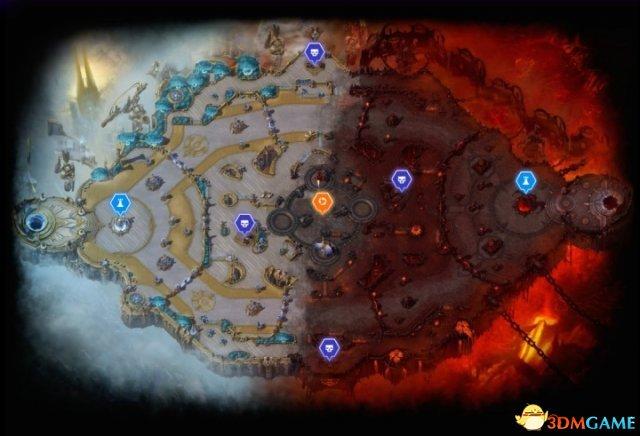 风暴英雄永恒战场怎么打 风暴英雄永恒战场地图解析