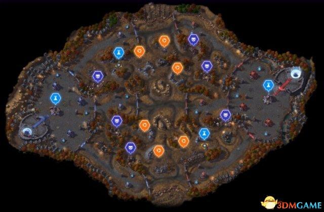风暴英雄诅咒谷怎么打 风暴英雄诅咒谷地图机制解析