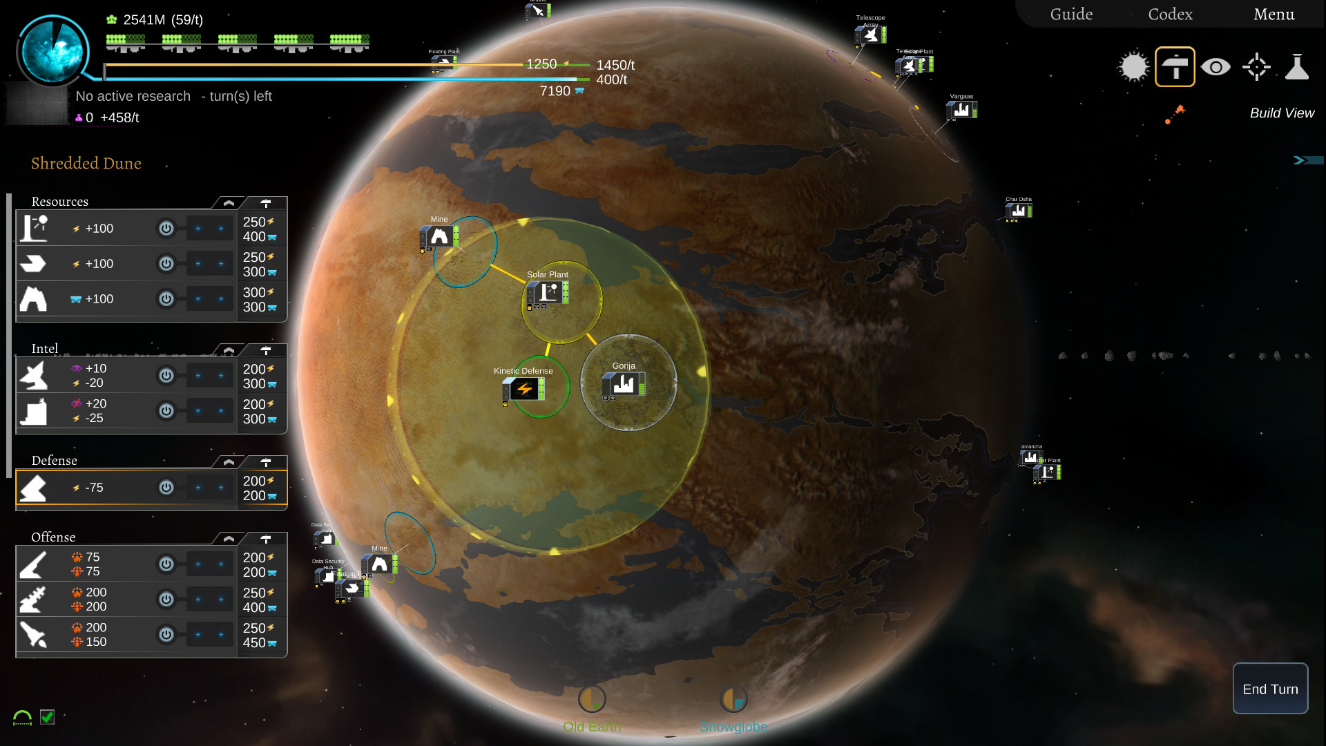 星际炮火:加强版 游戏截图