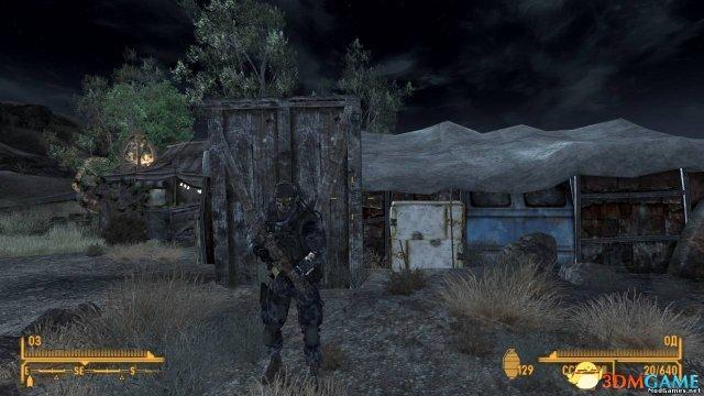 辐射:新维加斯 使命召唤幽灵服MOD
