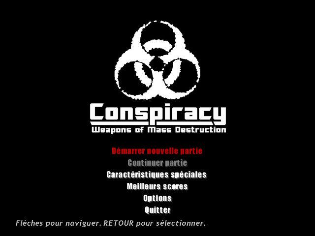 阴谋:大规模杀伤性武器 游戏截图