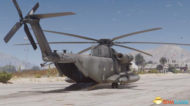 侠盗猎车5 MH-53J低空铺路者III直升机MOD