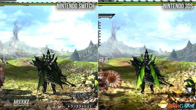 <b>到底强多少?《怪物猎人XX》Switch及3DS画面对比</b>