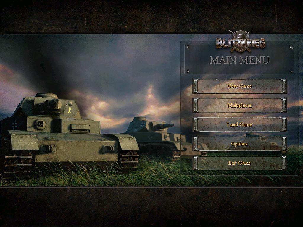 闪电战:巴巴罗萨行动 游戏截图