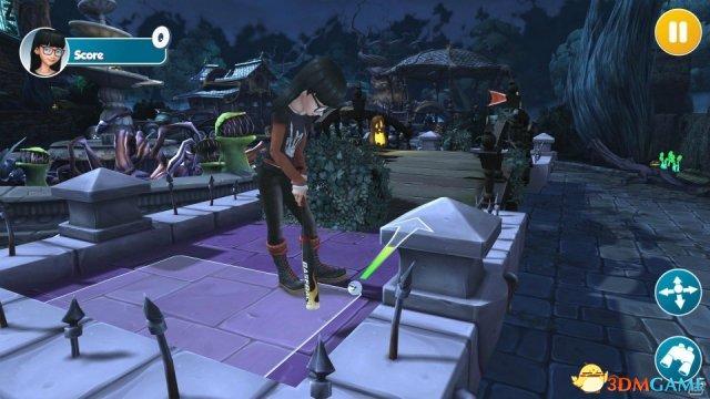 画风清新多玩法!PS4/NS版《无限迷你高尔夫》上线