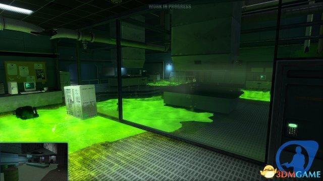 《半条命:蓝色转变》重制版《守护任务》画面对比
