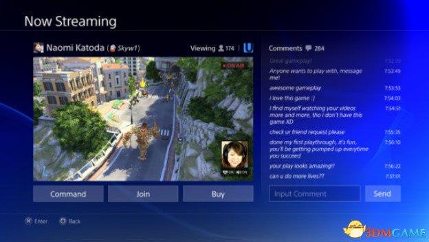 下一次固件更新之後,PS4 Pro將成遊戲主播利器