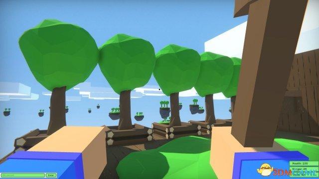 《天空之城》上线Steam 卡通风格生存地图类游戏