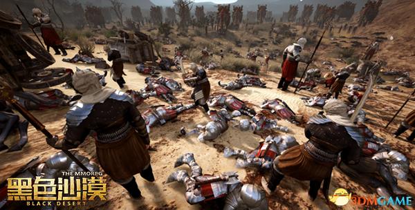齐心协力共进退 《黑色沙漠》超大规模攻城战玩法