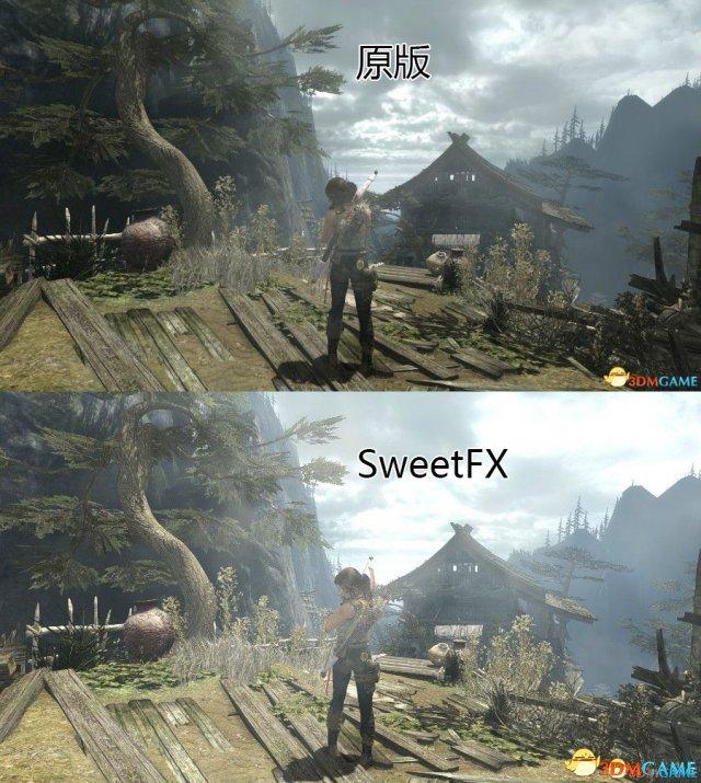 古墓丽影9 SweetFX次时代效果画质补丁