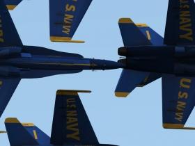 蓝天使特技飞行队模拟 游戏截图