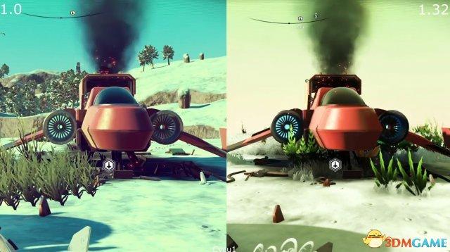 《无人深空》最新版对比原版视频 这是一个游戏么