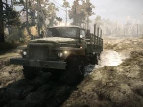 旋转轮胎:泥泞奔驰 游戏截图