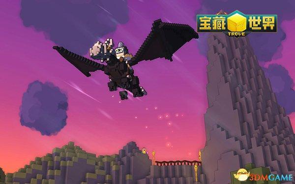 方块中的童话世界 《宝藏世界》一秒穿越迪士尼