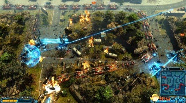 場景破壞逆天 射擊塔防新作《X變體:防禦》新預告