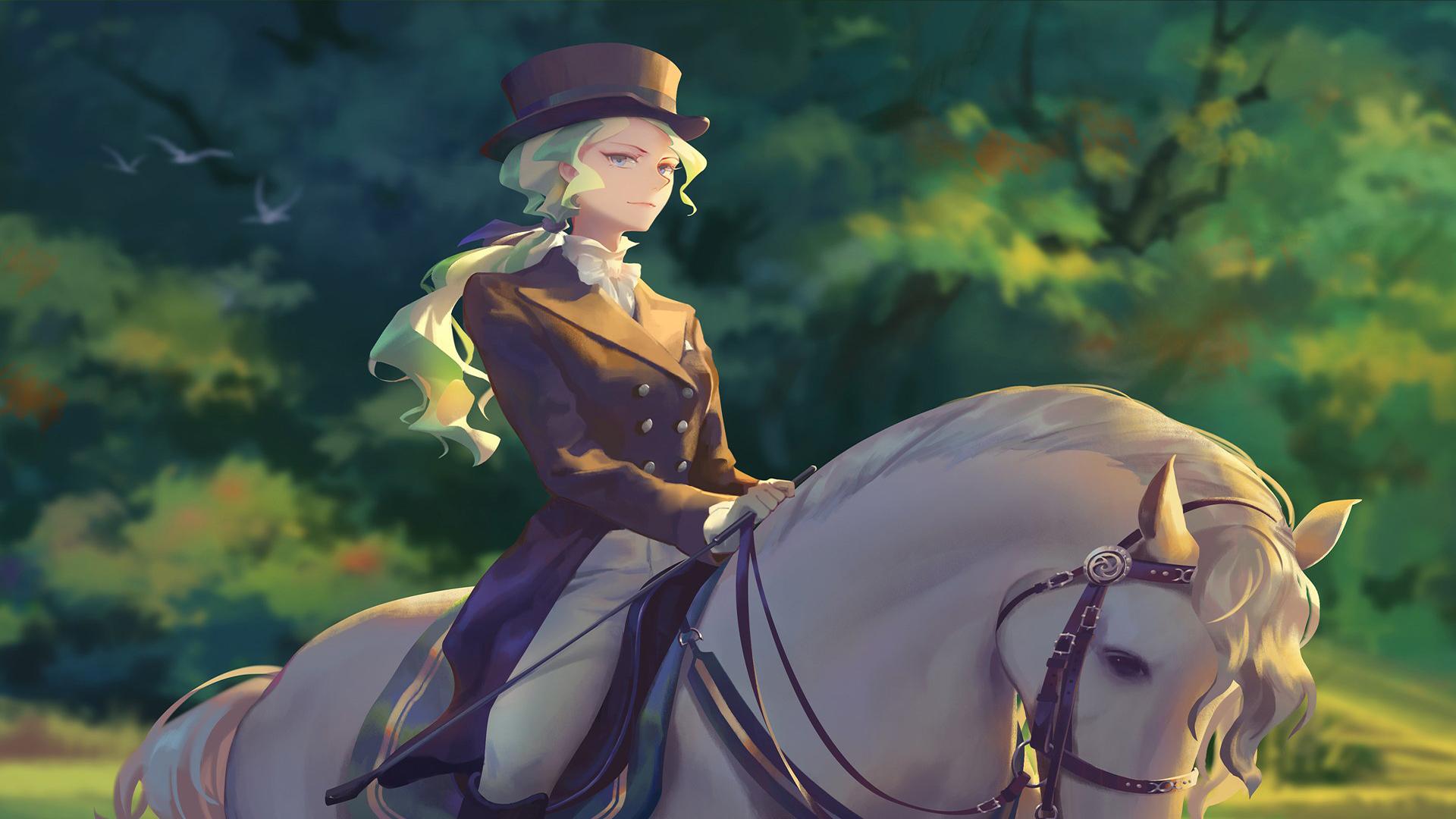 PS4/PC漫改冒险游戏《小魔女学园》新游戏截图