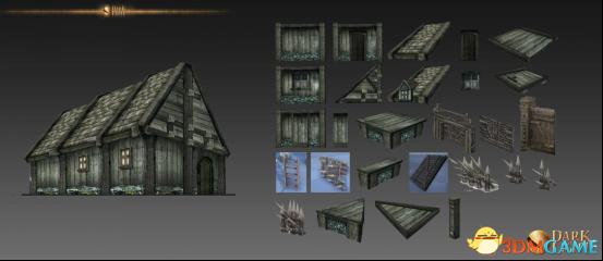新增32种建筑部件,《黑暗与光明》建造随心所欲