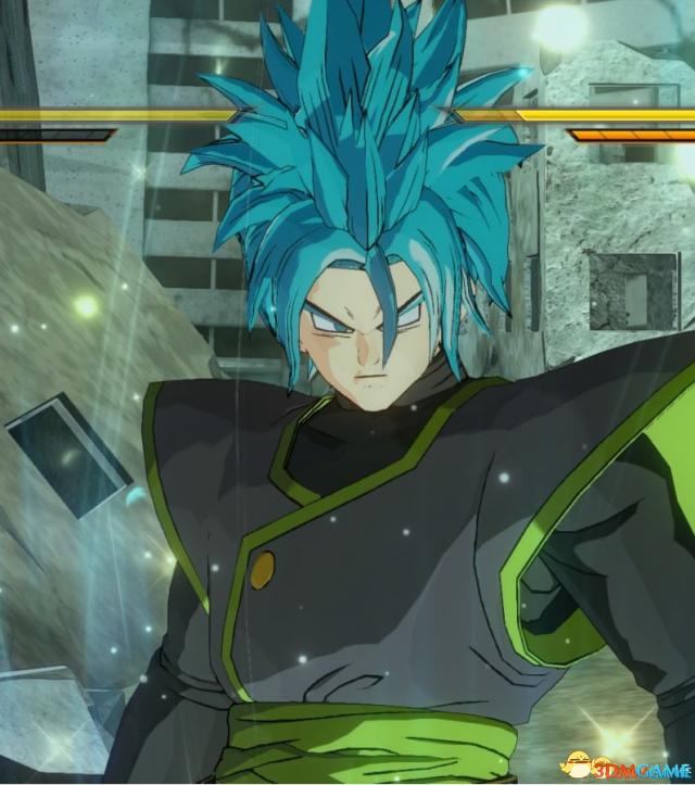 龙珠:超宇宙2v1.07赛亚男新发型超蓝发型MOD女生帅气短发没人喜欢图片