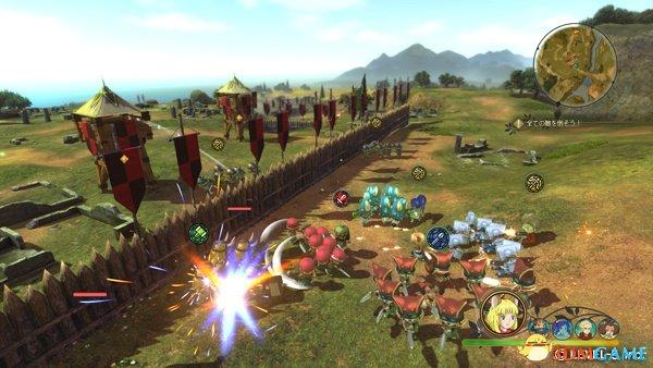 《二之国2》新要素「进军战斗」「王国模式」公开