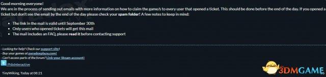 良心!P社为涨价期间Steam买游戏的玩家发放补偿