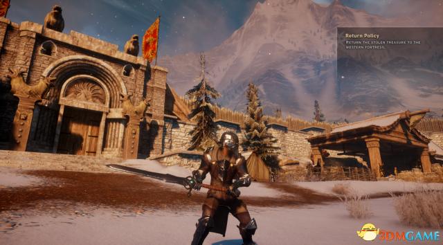 龙腾世纪3:审判 Fereldan巨剑MOD
