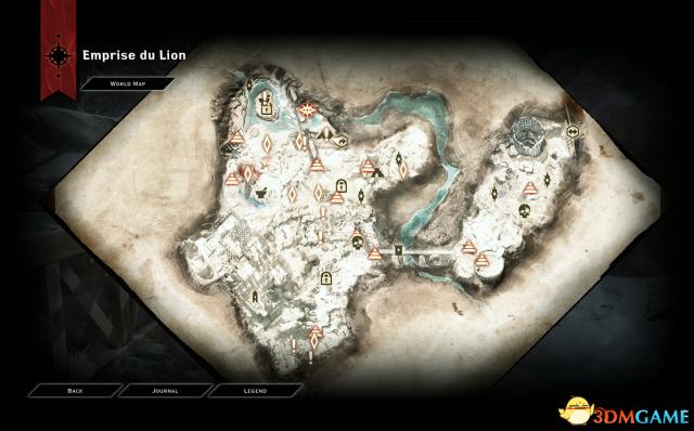 龙腾世纪3:审判 移除所有战争迷雾MOD