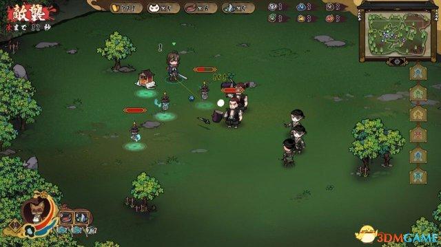 《风水演武》上线Steam平台 和风即时战略RPG游戏