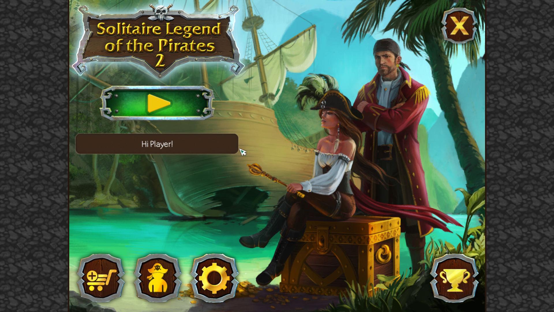 纸牌:海盗传说2 游戏截图