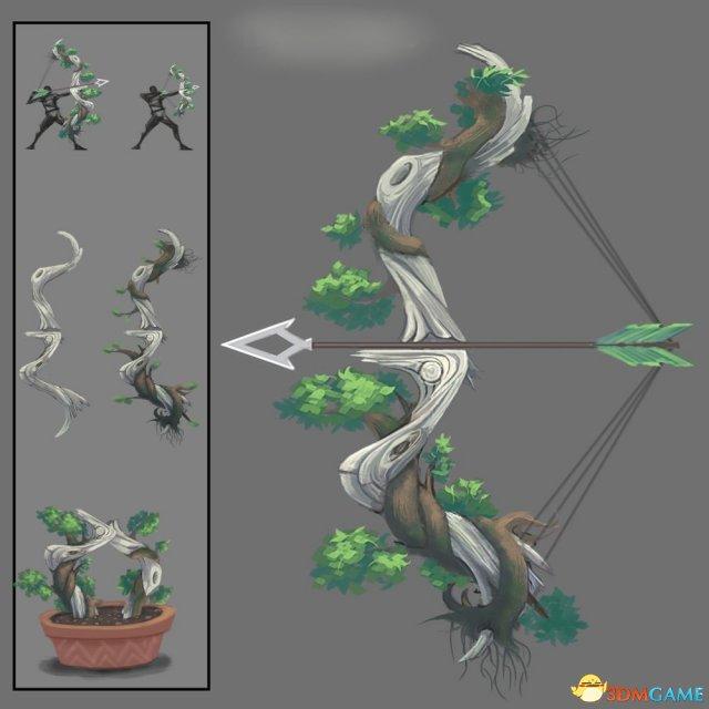 武器酷炫 《怪物猎人:世界》武器设计赛20强作品