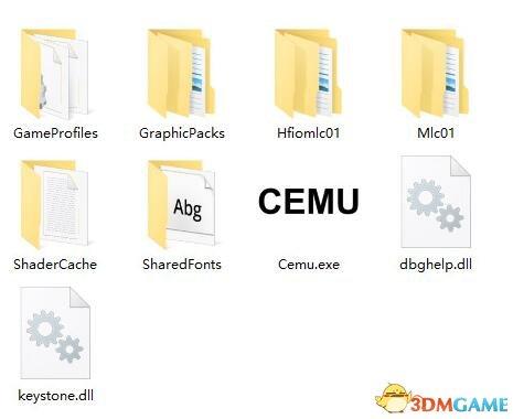 Cemu模拟器 v1.91全图形包+字体+Hook加速补丁整合版