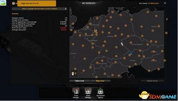 欧洲卡车模拟2 v1.27-1.28全探索14亿金钱完美存档