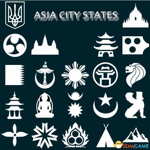 文明6 v1.0.0.167亚洲及东欧城邦合集MOD
