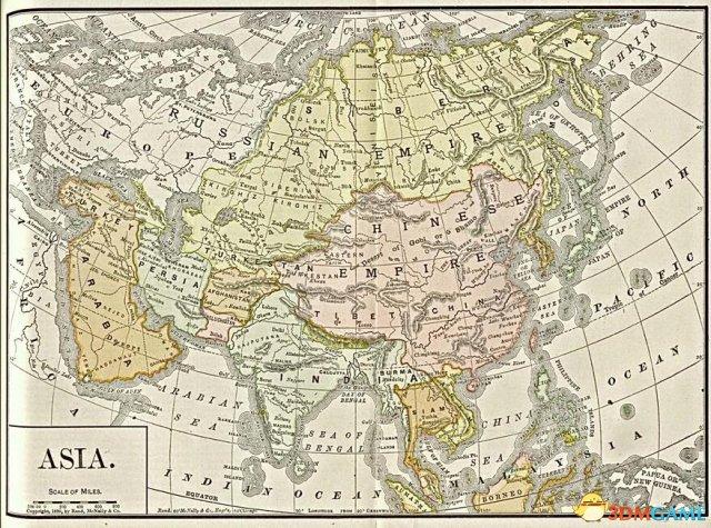 文明6 v1.0.0.167超真实伟大的亚洲地图MODv2.0