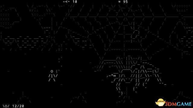 《石头记》上线Steam平台 由符号组成的复古游戏
